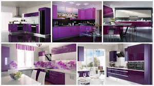 kitchen majestic purple and grey kitchen 1 stunning u shaped