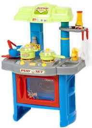 Kitchen Set Toys For Girls 29 Piece Blue Green Kitchen Boys Girls Cooking Kids Children U0027s