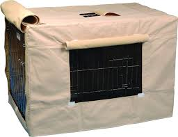 precision pet products indoor outdoor crate cover x large chewy com
