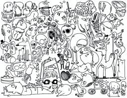 thanksgiving doodle coloring pages colouring detailed
