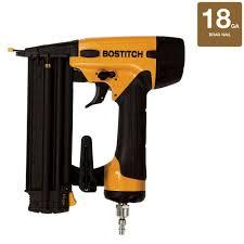 Bosch Roofing Nail Gun by Bostitch 18 Gauge 5 8 In 2 1 8 In Brad Nailer Bt1855k The