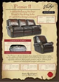barcalounger premier reclining sofa barcalounger premier ii 3 seat power reclining sofa chair stetson