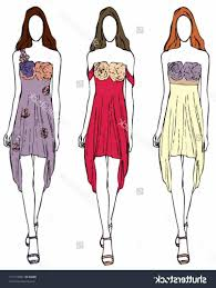 free clipart of coco chanel little black dress collection