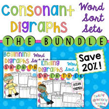 simple resume exles images of digraph consonants sh ch th wh word sort teaching resources teachers pay teachers