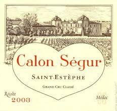 château calon ségur grand cru 2003 chateau calon segur estephe prices