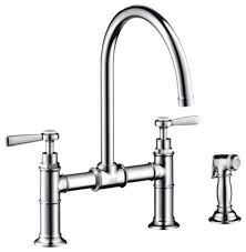 bridge faucet kitchen hansgrohe kitchen faucet brand does hansgrohe make the grade