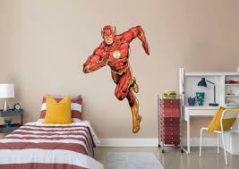 the flash the new 52 wall decal shop fathead for the flash decor the flash the new 52 fathead wall decal