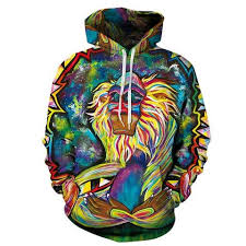 psychedelic monkey colorful hoodie hoodies pinterest