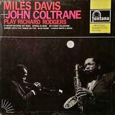 miles davis and john coltrane play richard rodgers vinyl lp