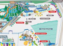 World Time Clock Map by Cabana U0026 Umbrella Rental Waldameer Water World