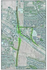 Amtrak National Map by 54 Million Overpass To Offer Traffic Relief In Maricopa South Of