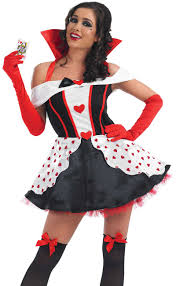 ladies queen of hearts costume my fancy dress ireland