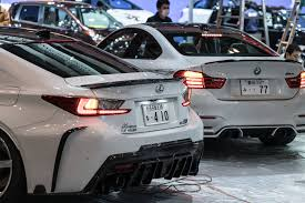custom lexus rc lexus rc f tuned by rowen japan with carbon parts and titanium