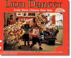 lion dancer book see the lion and prance on new year day
