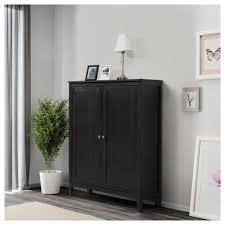 Schreibtisch Mit Schubladen Designe Kommode Schwarz Deco Arbeitsplatz U A Mit Hemnes