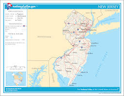 Garden State Parkway Map New Jersey