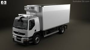 renault premium 360 view of renault premium distribution refrigerator truck 2011