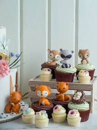 woodland cake toppers trend alert woodland animal cakes food heaven