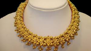 gold new designs necklace images Traditional necklace designs grand necklace design jpg