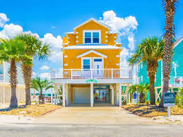 waterfront home in gulf shores with wrap ar vrbo