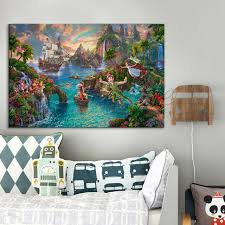 aliexpress buy poster and print of kinkade tangled on