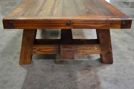 Rustic Coffee Tables And End Tables Furniture Wonderful Reclaimed Wood Square Coffee Table Rustic