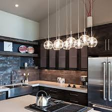 Pendant Lights For Kitchens by Glass Pendant Lights U0026 Drop Lighting Fixture Clear Blow