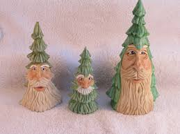 santa trees 2012 wood carving fred ainge carves pinterest woods
