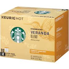 starbucks veranda blend roast ground coffee k cups 32 ct