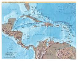 North And Central America Map by North America Map Of North America Maps Of North America And