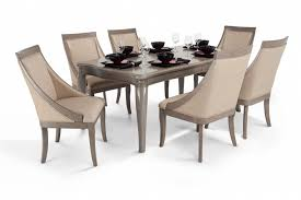 bobs furniture kitchen table set gatsby 7 dining set with swoop chairs bob s discount furniture