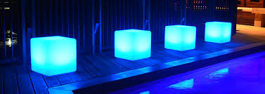 led cubes led seat hire square sep perry s coast hire