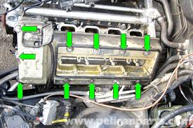 bmw e39 5 series valve cover gasket removal 1997 2003 525i 528i
