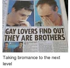 Ute Memes - ute tortu gay lovers find out they are brothers taking bromance to