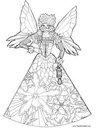 fairy coloring pages bestofcoloring