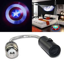 Captain America Bedroom by Captain America Bedroom Wall Ceiling E26 E27 Led Logo Projector