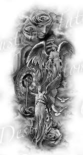 Tattoo Ideas Of Angels Omg This Is Beautiful Tattoos Pinterest Tattoo Tatoo And