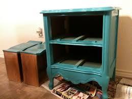 nightstand splendid diy nightstand trash can repurposed side