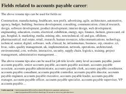 Sample Resume For Accounts Payable Specialist by Top 12 Accounts Payable Resume Tips