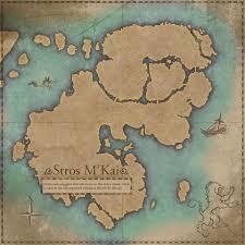 Khenarthi S Roost Treasure Map 1 Stros M U0027kai Online Elder Scrolls Fandom Powered By Wikia