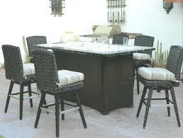 bar height patio table plans bar height outdoor dining set patio renaissance outdoor wicker