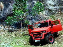 modified mahindra jeep this modified mahindra thar goes by the name of archer motoroids