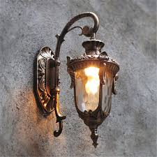 Outdoor Wall Sconce Modern Outdoor Wall Lights Garden Pathway Antique Wall Sconce