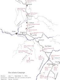 Atl Map Title Civil War In Ga