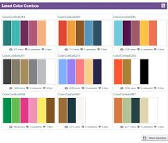 best color combos psychology of good website colors to create the perfect combos