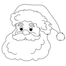 santa clipart black and white free clip art images freeclipart pw