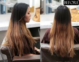 medium length hair with ombre highlights ombre color correction jonathan george