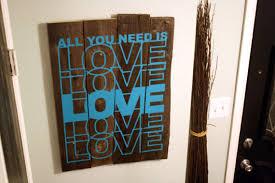 rustic wood artwork remodelaholic rustic vinyl wall decal tutorial