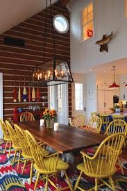 small funky cottage rustic dining room toronto by david