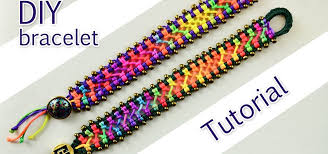 bracelet macrame patterns images How to make a easy macrame criss cross bracelet jewelry jpg